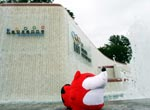 小狐狸访奥运博物馆
