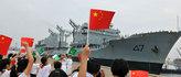 巴基斯坦海军舰艇编队访青岛