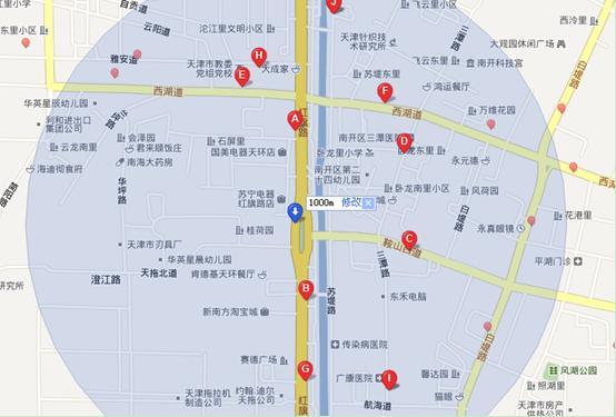 地图及公交站点