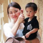 河南 孟小鱼 (儿子 1岁10个月)