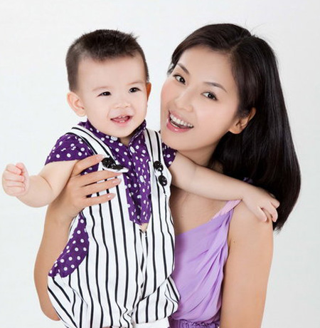 刘涛和儿子