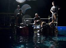 深渊潜水场景的现场指导