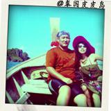 楠楠和志刚在Phiphi岛