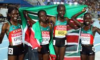 女子10000米,大邱田径世锦赛