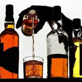 观察威士忌颜色