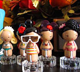 卓悦买的原宿娃娃军团