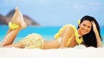 变身夏威夷女郎 赢取免费出国游