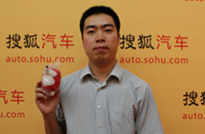 上海大众江苏销售服务中心市场经理 孔伟