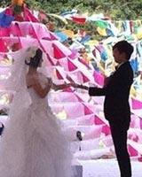 新郎新娘交换戒指