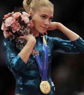 阿法纳斯提耶娃,体操世锦赛