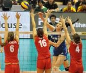 女排世界杯中国连扳三局 3-1逆转塞尔维亚