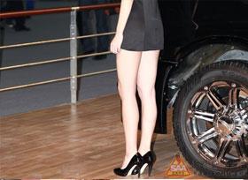2011年广州车展美腿集中营 爱美的人都进来