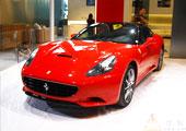 法拉利458猩红夺目