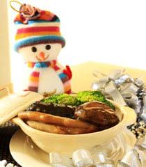圣诞派对大餐