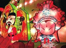 山东德州:董子园正月灯会