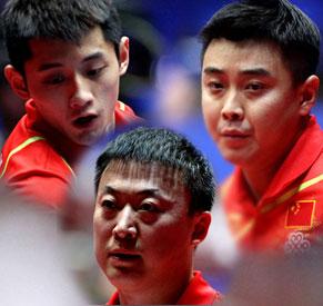 男团3-0横扫中国香港 张继科沉稳摘头魁