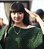 美女绿衣助阵京鲁战