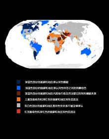 全球同性恋合法化国家分布图