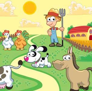小牧场:当小羊倌,喂食小动物,城里孩子不曾接触的角色 蔬菜园:宝宝图片