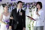 郎平为男排前国手证婚