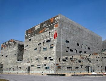 宁波历史博物馆,王澍设计