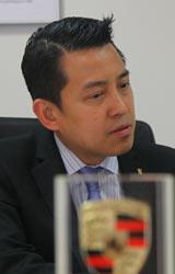北京长安/金港保时捷中心总经理冯颂义