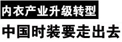 2012首届中国国际时尚内衣论坛