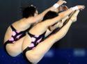 女子10米跳台双人