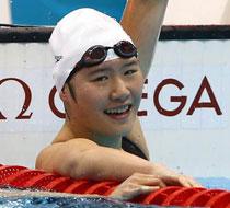 女子400米个人混合泳叶诗文夺金