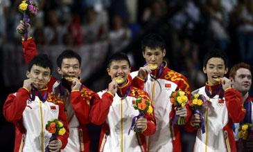 中国体操男队完美逆转卫冕