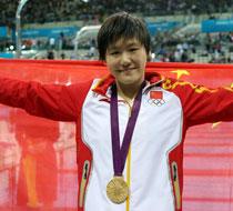 女子200混-叶诗文再破奥运纪录