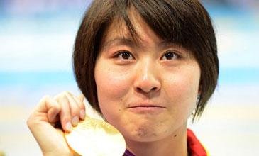 女子200蝶泳-焦刘洋夺冠