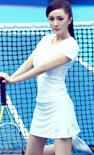 杨幂变身网球宝贝