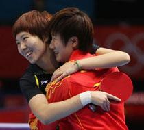 中国乒乓球女团夺冠