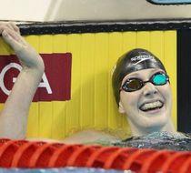 富兰克林打破女子200米仰泳世界纪录