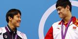 孙杨,朴泰桓,200米自由泳并列银牌