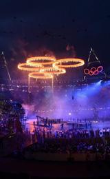 伦敦奥运开幕式