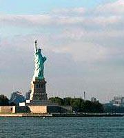 美国 自由女神 美国东海岸