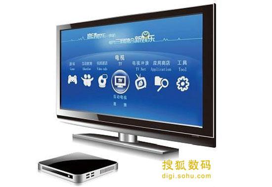 """智能高清机顶盒主要卖点是:可以让你的老电视变身""""智能电视"""""""