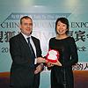 Neso china首席代表  Marrik Bellen,大使馆马拉松,教育展,自由荷兰