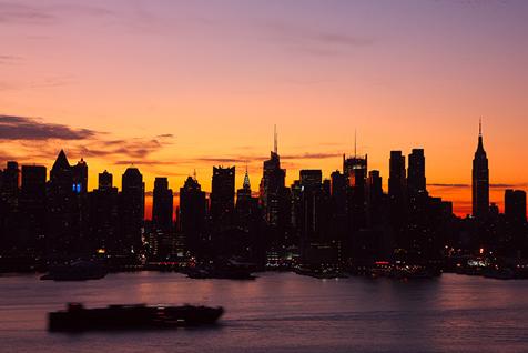 摄影高手眼中的美国 震撼人心的纽约夜景