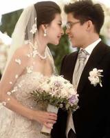 郭晶晶历次婚宴造型
