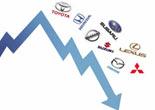 自主品牌争取到一部分日系车让出的市场份额