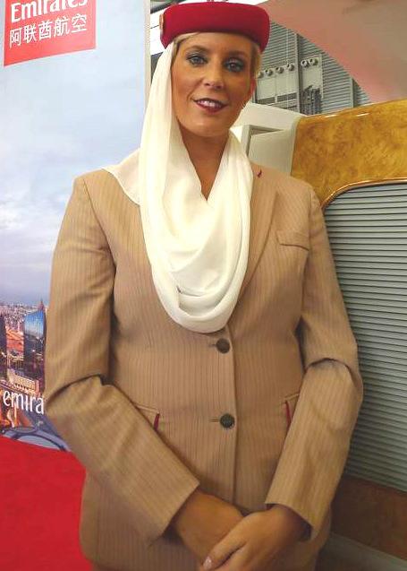 阿联酋美女空姐