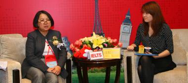 澳大利亚驻上海总领事馆商务处教育领事徐佩仪