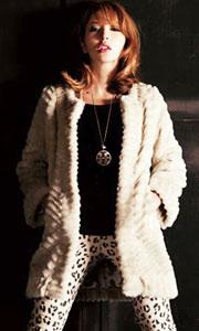 复古多层水晶长款毛衣链