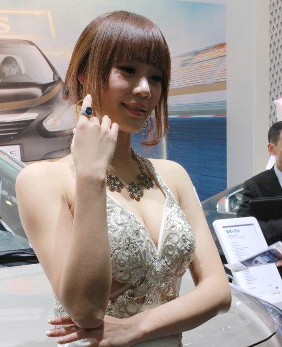美女,车模