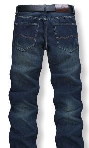 加厚男士潮黑牛仔裤