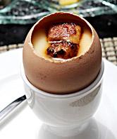 铁板鹅肝蒸蛋