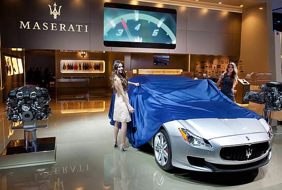 全新玛莎拉蒂总裁轿车 北美国际车展首发-搜狐汽车